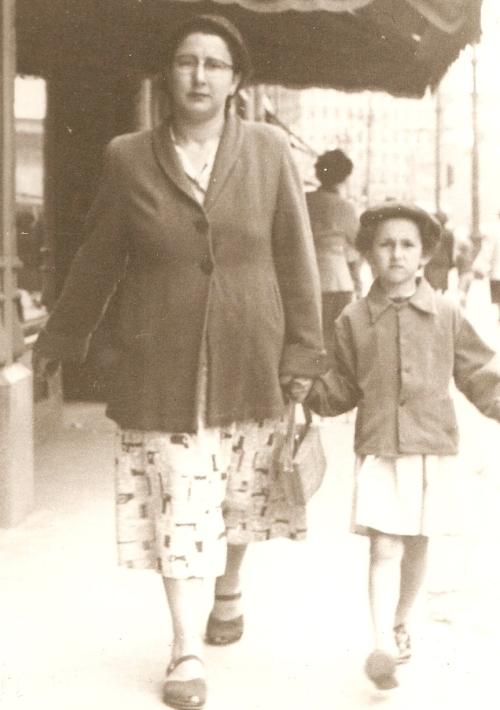 Portage Avenue, mid 1950s, Winnipeg