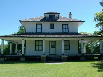 Front elevation with verandah