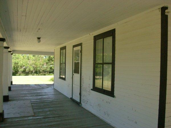 Wide inviting verandah