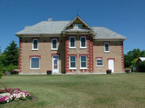 Shaver house front elevation