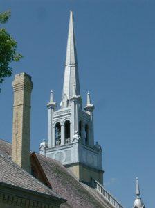 Ste. Anne's steeple