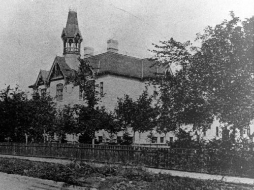 Central School #2, later renamed Albert School