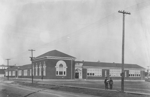 Margaret Scott School as it appeared just after opening in 1920