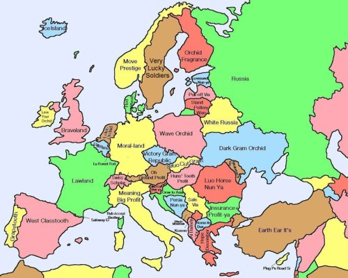 literal-map-of-europe-by-chinese-name
