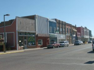 East side of Carberry's Main Street