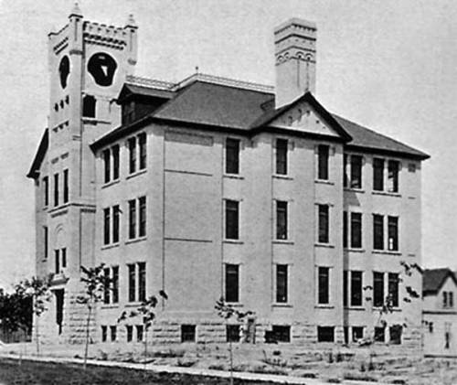 Alexandra School was located where the Winnipeg Convention centre now stands.
