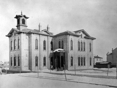 Carlton School #1, known original as South Central School.