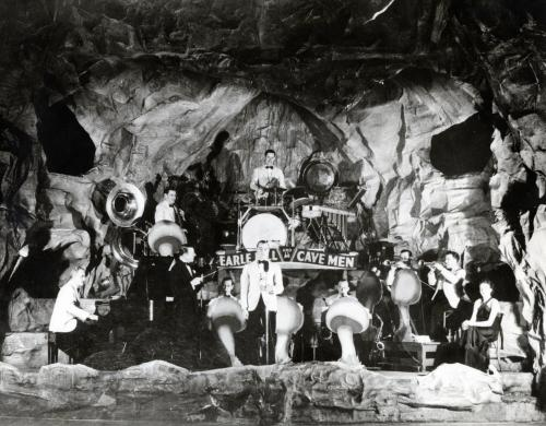 Wpg Earle Hill & His cavemen at Cave Club 1937