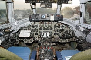 viscount cockpit