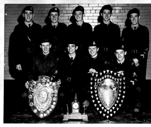Provencher School Cadet Corp 1952