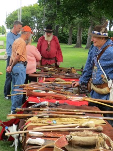 Muzzleloaders at Carberry Heritage Festival