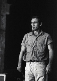 Neal Cassady Smoking Cigarette
