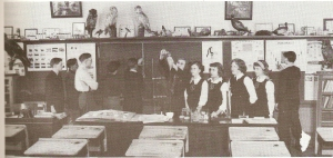 LAURA SECORD 1950S SCIENCE CLASS